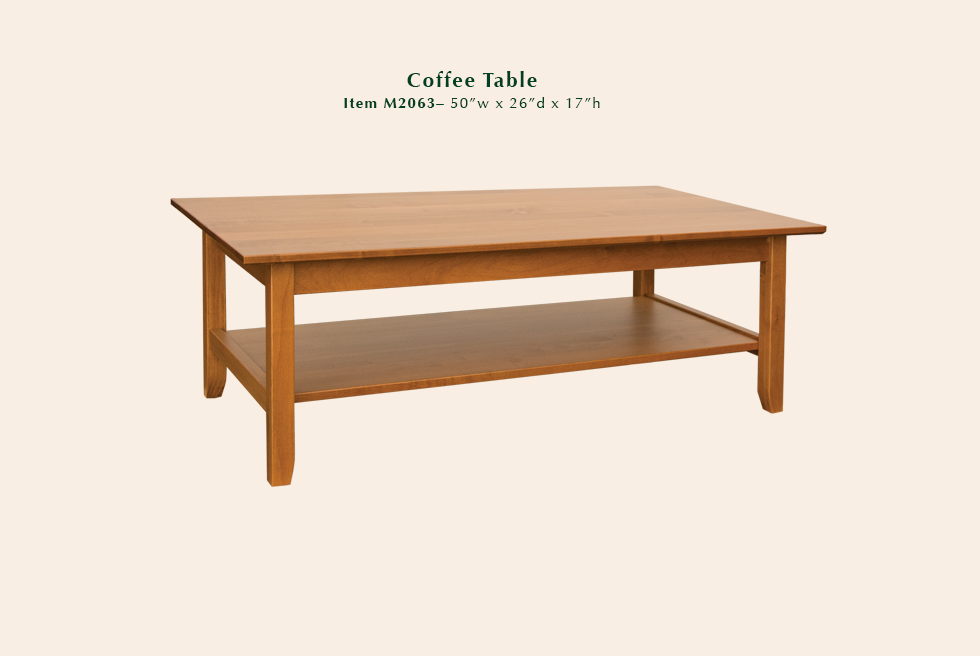 2063 Riviera coffee table