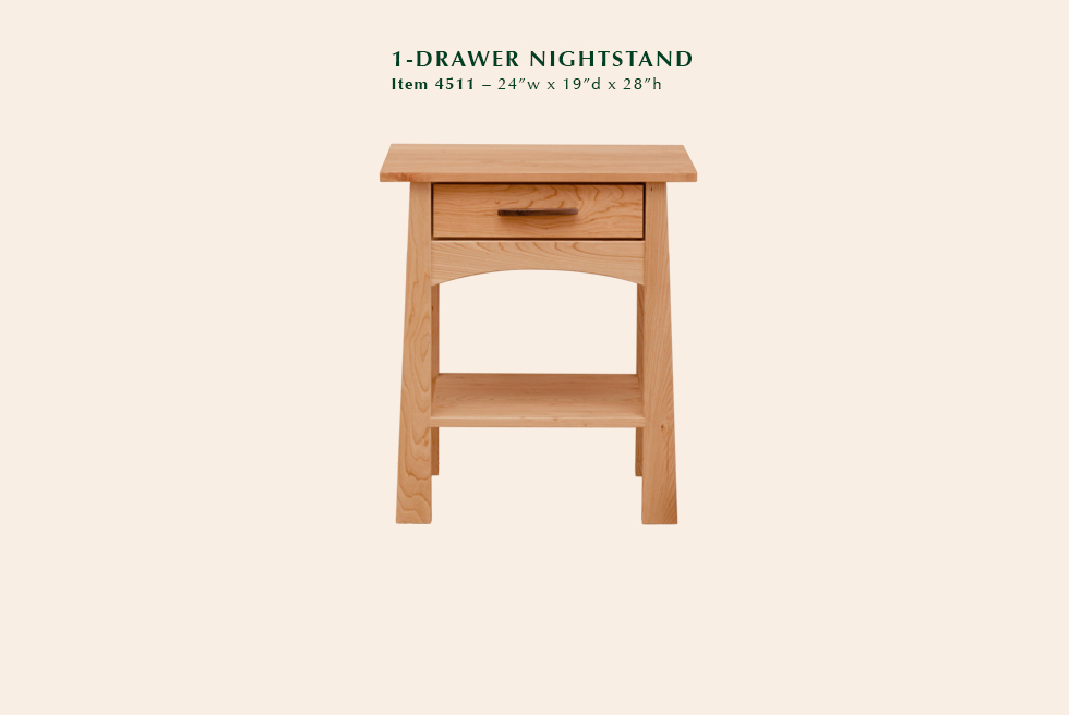 4511 Reflections 1dr nightstand