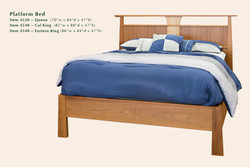 4520 Reflections platform bed