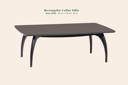 0990 Tibro rectangular coffee table