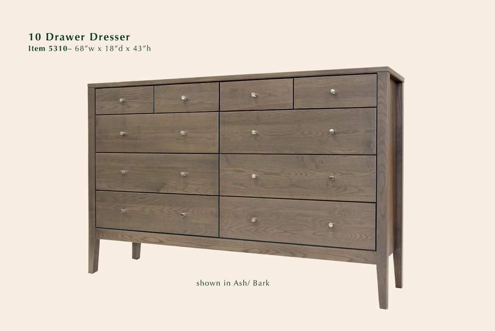 Calvin 10 Dr Dresser