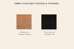 Tibro available finishes