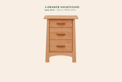 4513 Reflections 3dr nightstand