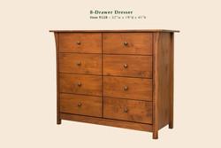 Cascadia 8 Drawer Dresser