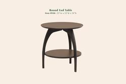 0940 Tibro round end table
