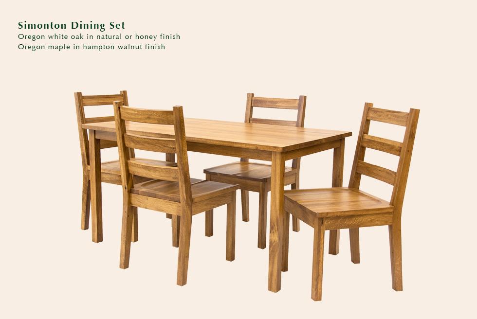 Simonton dining set
