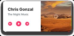 Audio Player Mini + Artwork Rabbit_Desig