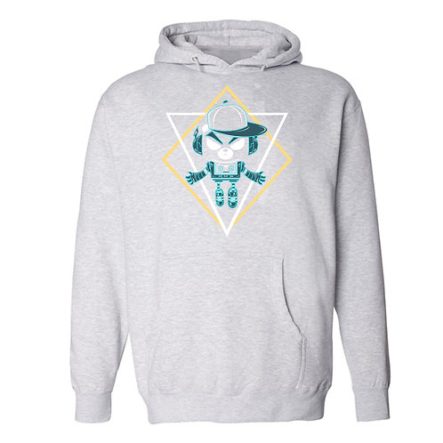 Decker Bot Pull Over Hoodie