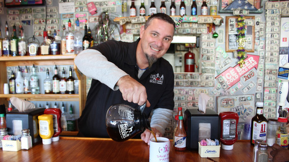 Tony Sawyer, owner of Bob's Downtown Diner
