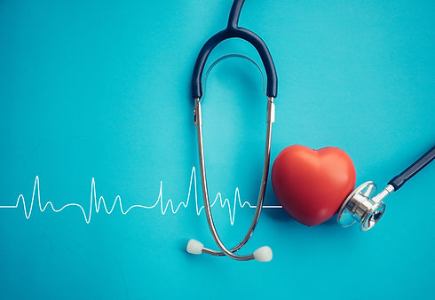 Heart and stethoscope,Heartbeat Line,Healthcare concept..jpg