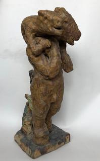 2003 far og barn på skulder 71 cm