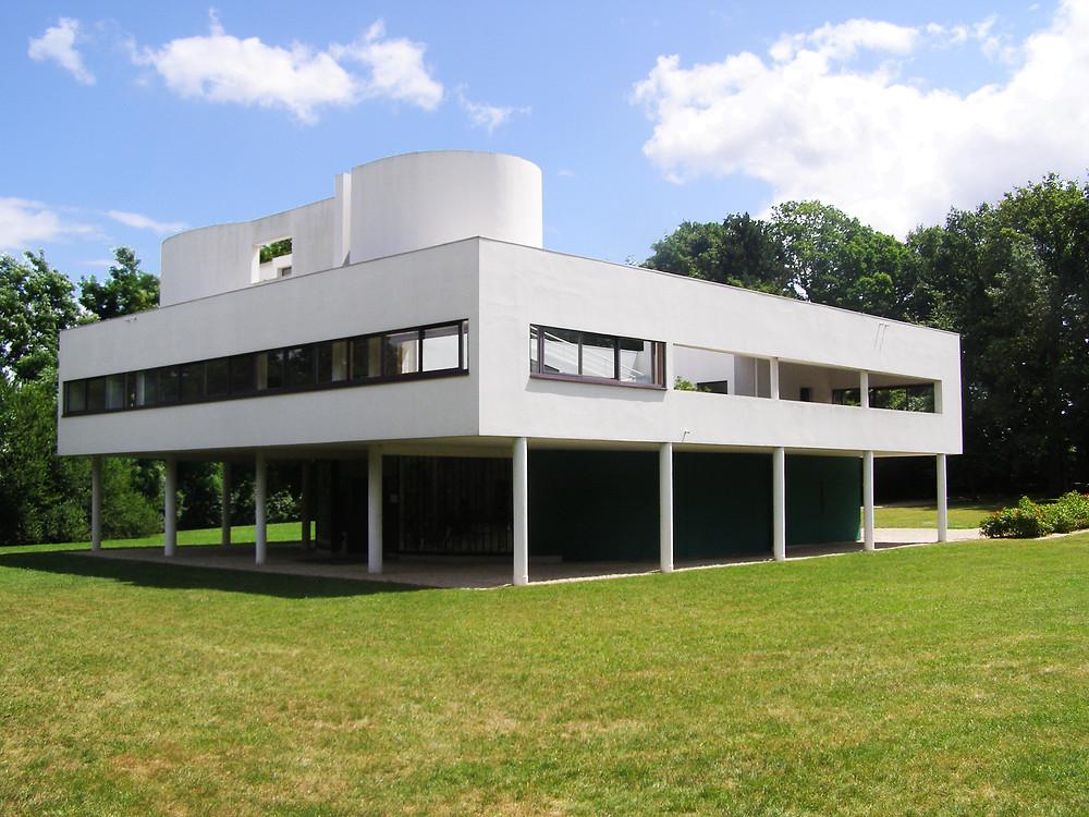 Modern - Villa Savoye by Le Corbusier