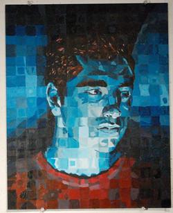 Color: Anti-vanity self portrait