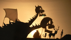 Value- Shadow puppets project