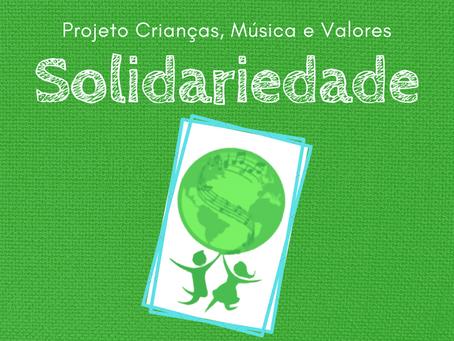 O sucesso que a Solidariedade causou ontem!  |  Projeto Crianças, Música e Valores