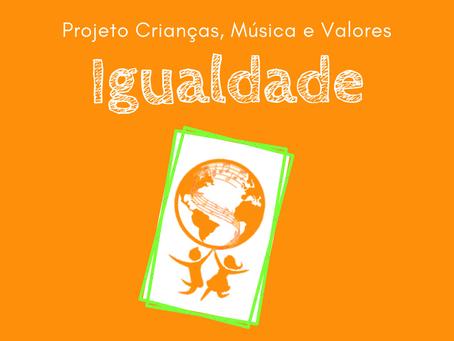 Como foi o nosso evento pela Inclusão?   Projeto Crianças, Música e Valores