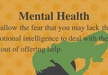 It's Mental Health Week