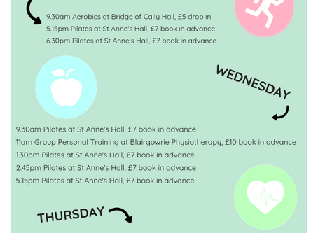 Group Classes - come exercise with me!