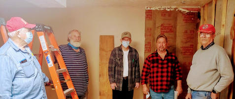 Volunteer build crew and Freedom access owner.