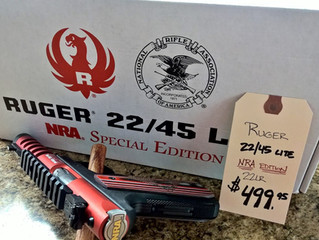 New Ruger NRA Special Edition in at S.F.D
