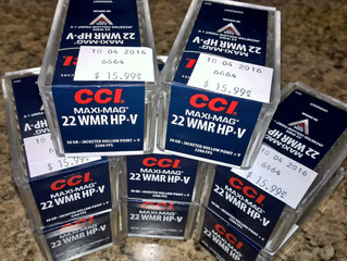 .22WMR ammo finally coming in...