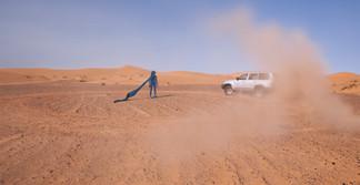 Drawing Landscape - Biennale de Marrakech - Sahara 2014