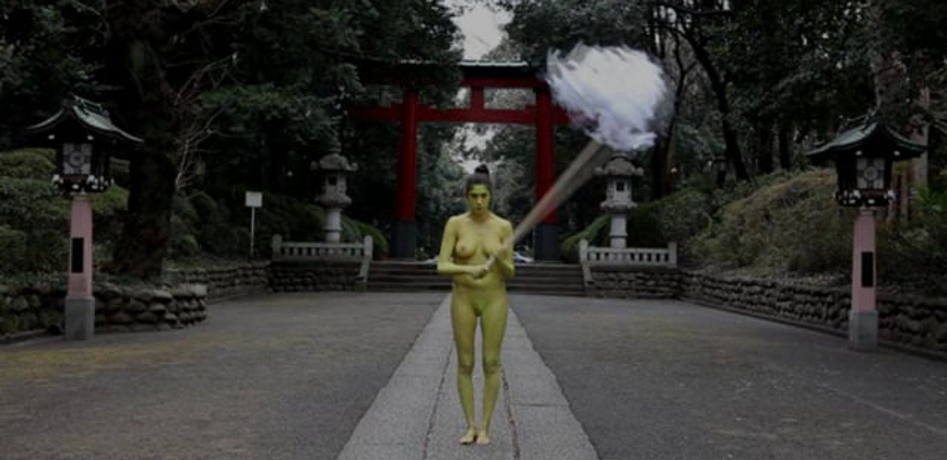 Shinto Action - Japan 2012 - Video of performance HD Video 4:11 - Edition of 5 + 1EA