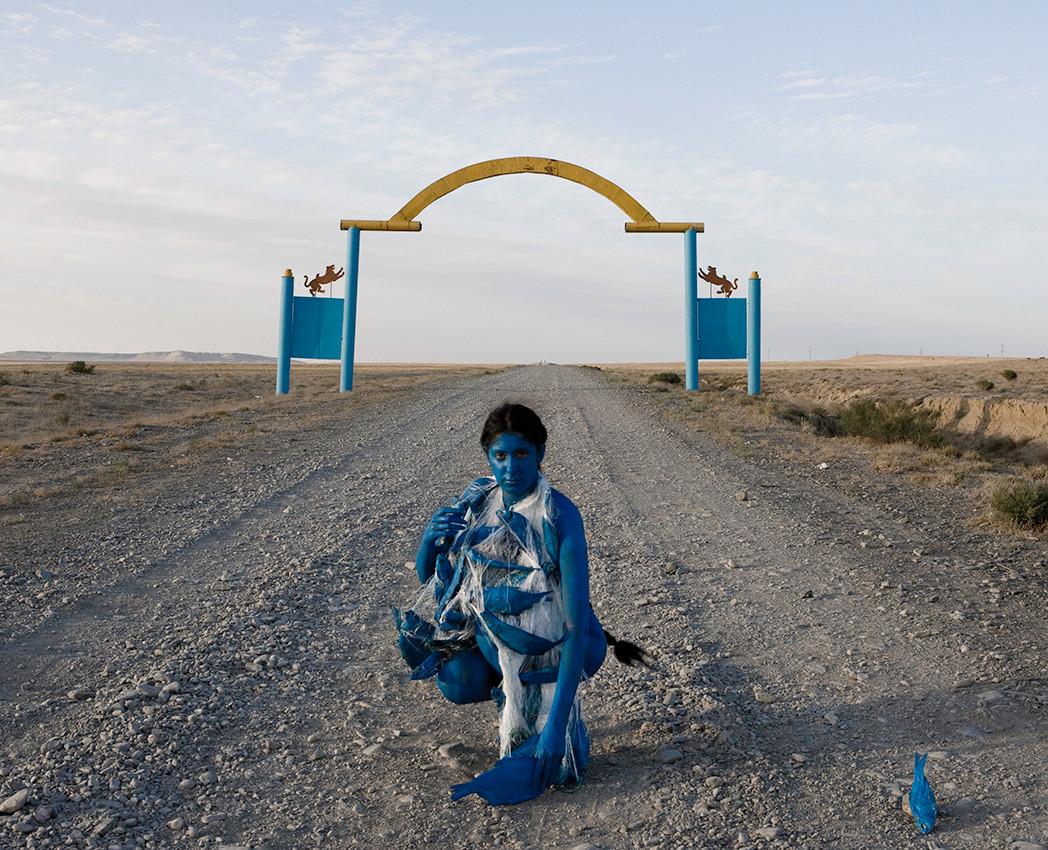 Aralsk testimony #02 - Kazakhstan 2013 - Photography of performance C-print - 148cm x 120cm - Edition of 5 + 2EA