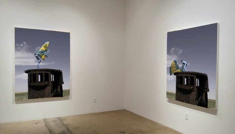 Aral Revival - Vue d'exposition
