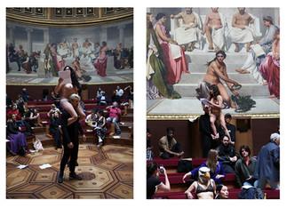 Sans titre - Corps et Artivisme - Amphithéâtre d'honneur des Beaux Arts de Paris - Paris 2018