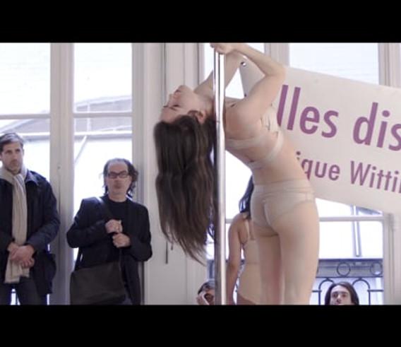 I can not be silent - A Feminist vertical Strike - Fondation d'entreprise Ricard 2017