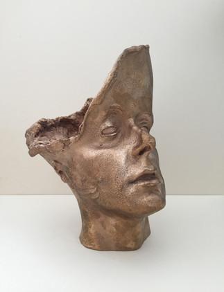 Sans titre - bronze - Performance Faccia Faccia - Galerie Vanessa Quang - France 2017