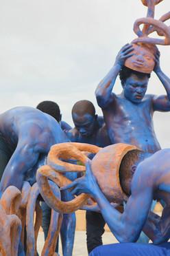 Sans titre 2018 - Bénin - bois - vue de performance