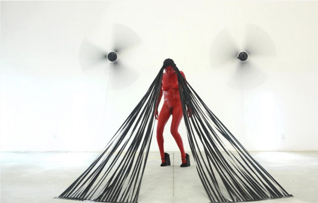 Action for China #1 - China 2011 - Photography of performance C-print - 93,5cm x 66cm - Edition of 5 + 1EA