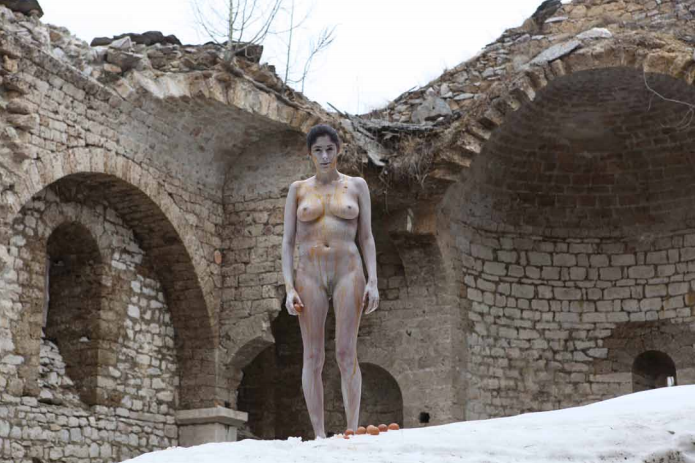Action for Macedonia #02 - Macedonia 2012 - Photography of performance C-print - 99cm x 66cm - Edition of 5 + 1EA