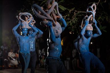 Essai chorégraphique Dide - Nuit Blanche de Cotonou 2018
