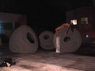 Roni Rooftop - Glasshouse Art Residency - Israël 2010