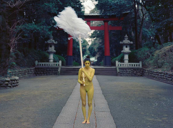 Shinto Action - Japan 2012 - Photography of performance C-print - 123,4cm x 93,5cm - Edition of 5 + 1EA