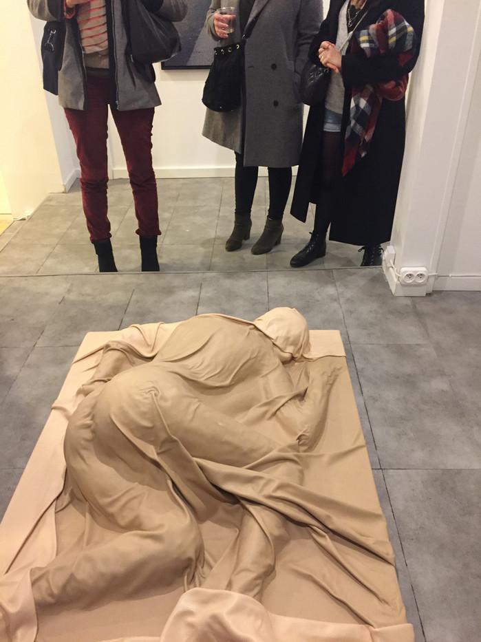 Vue d'exposition à la galerie Marguerite Milin