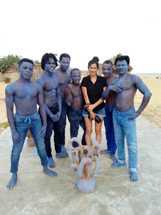 Workshop avec 6 danseurs - Cie Multicorps - Cotonou
