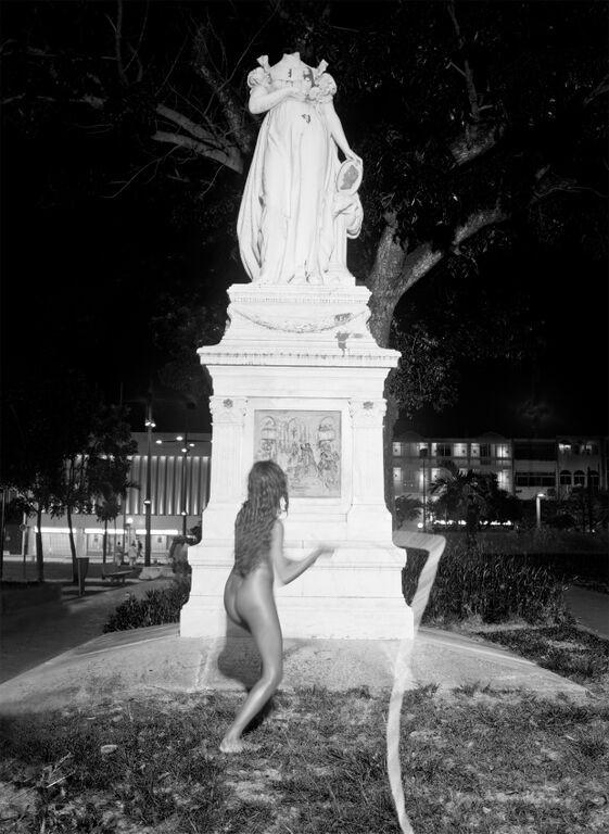 Flogging Joséphine - Martinique 2012 - Photography of performance C-print - 100cm x 70cm - Edition of 5 + 1EA