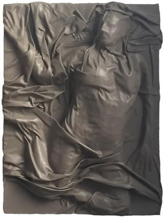 Sans titre - sculpture cuir - 2017