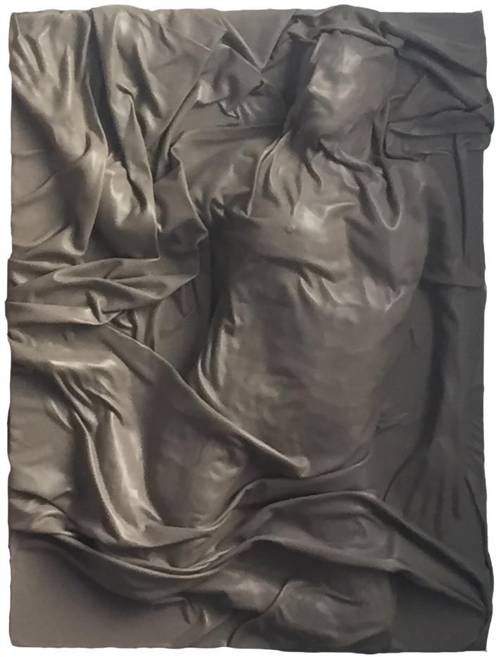 Sans titre - France 2017 - cuir 175cm x 56cm - Pièce unique