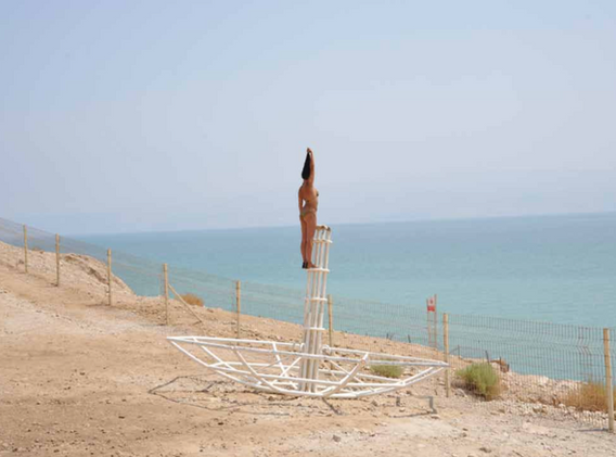 Action for Eing Gedi #2 - Israël 2010 - Photography of performance C-print - 105cm x 70cm - Edition of 5 + 1EA