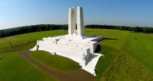 The Canadian National Vimy Memorial.