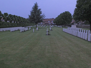 A visit to the Ypres Town Cemetery Extension