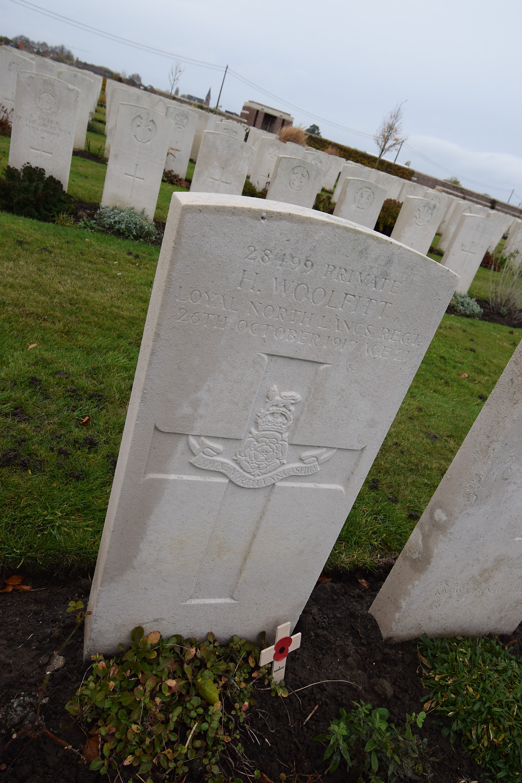 Private Herbert Woolfitt, 2nd/4th Bn, The Loyal North Lancashire Regiment
