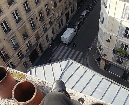 RAMONAGE SUR TOIT DE PARIS