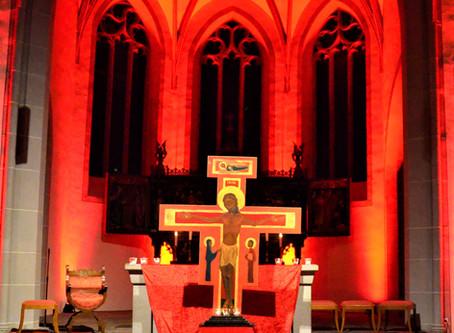 Feuer und Flamme - ökumenische Kirchennacht