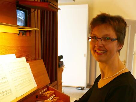 Einführung von Organistin Brigitte Amann